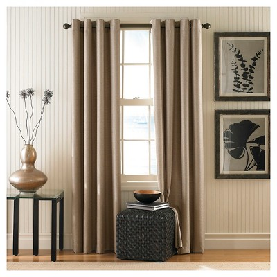 Curtainworks Monterey Lined Curtain Panel - Linen (95 )
