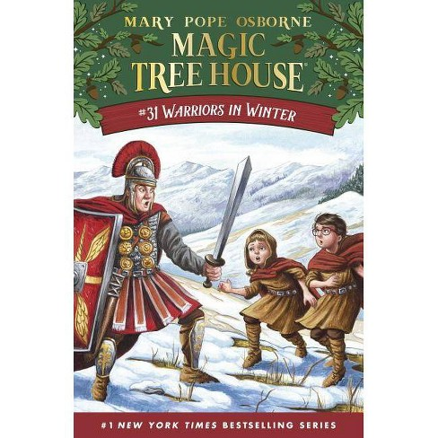 Warriors in Winter -  (Magic Tree House) by Mary Pope Osborne (Hardcover) - image 1 of 1