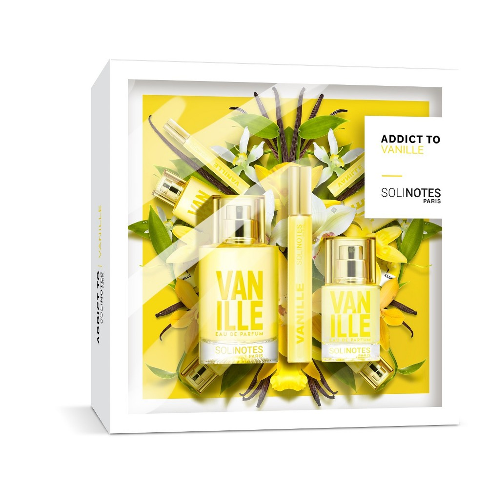 Image of Solinotes Holiday Gift Set – Vanilla Eau De Parfume - 2.53 fl oz