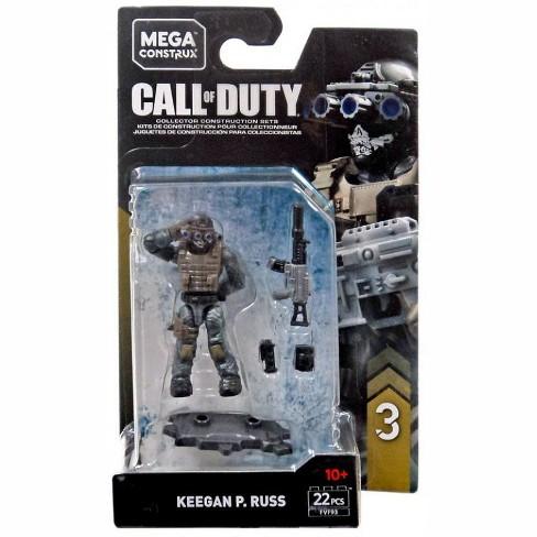 Call Of Duty Mega Construx Specialists Series 3 Keegan P Russ Mini Figure Target