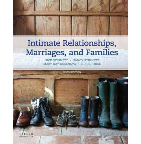 Intimate Relationships, Marriages, and Families (Paperback) (Nick Stinnett & Nancy Stinnett & Mary Kay - image 1 of 1