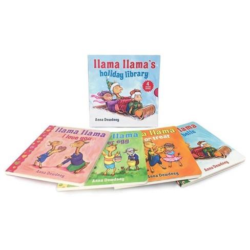 Llama Llama's Holiday Library (Hardcover) (Anna Dewdney) - image 1 of 1
