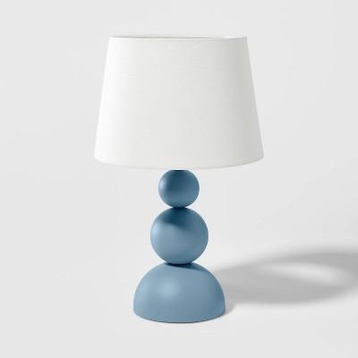 Modern Ball Table Lamp Blue - Pillowfort™
