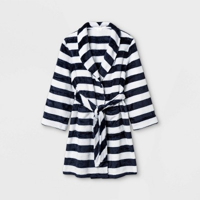 Boys' Striped Robe - Cat & Jack™ Navy/White