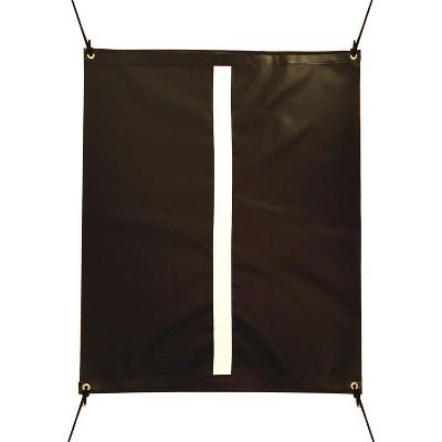 Cimarron Sports Outdoor/Indoor Vinyl Golf Swing Training Aid Target Hitting Net for Accuracy, Black
