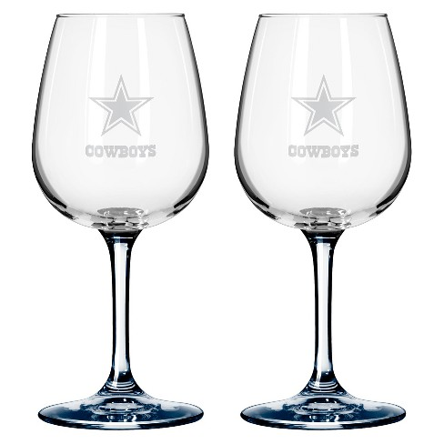 Boelter Brands Dallas Cowboys 2 Pack Wine Glass 12 oz - image 1 of 1