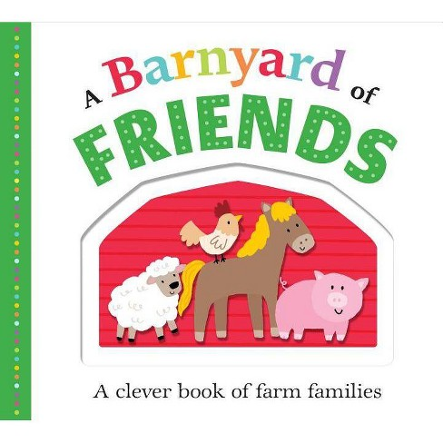 A Barnyard of Friends - (Picture Fit) by  Roger Priddy (Board_book) - image 1 of 1