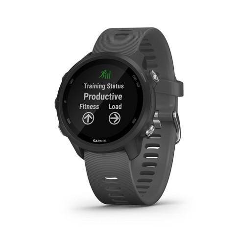 Garmin Forerunner 245 GPS Running Smartwatch - Slate Gray - image 1 of 4