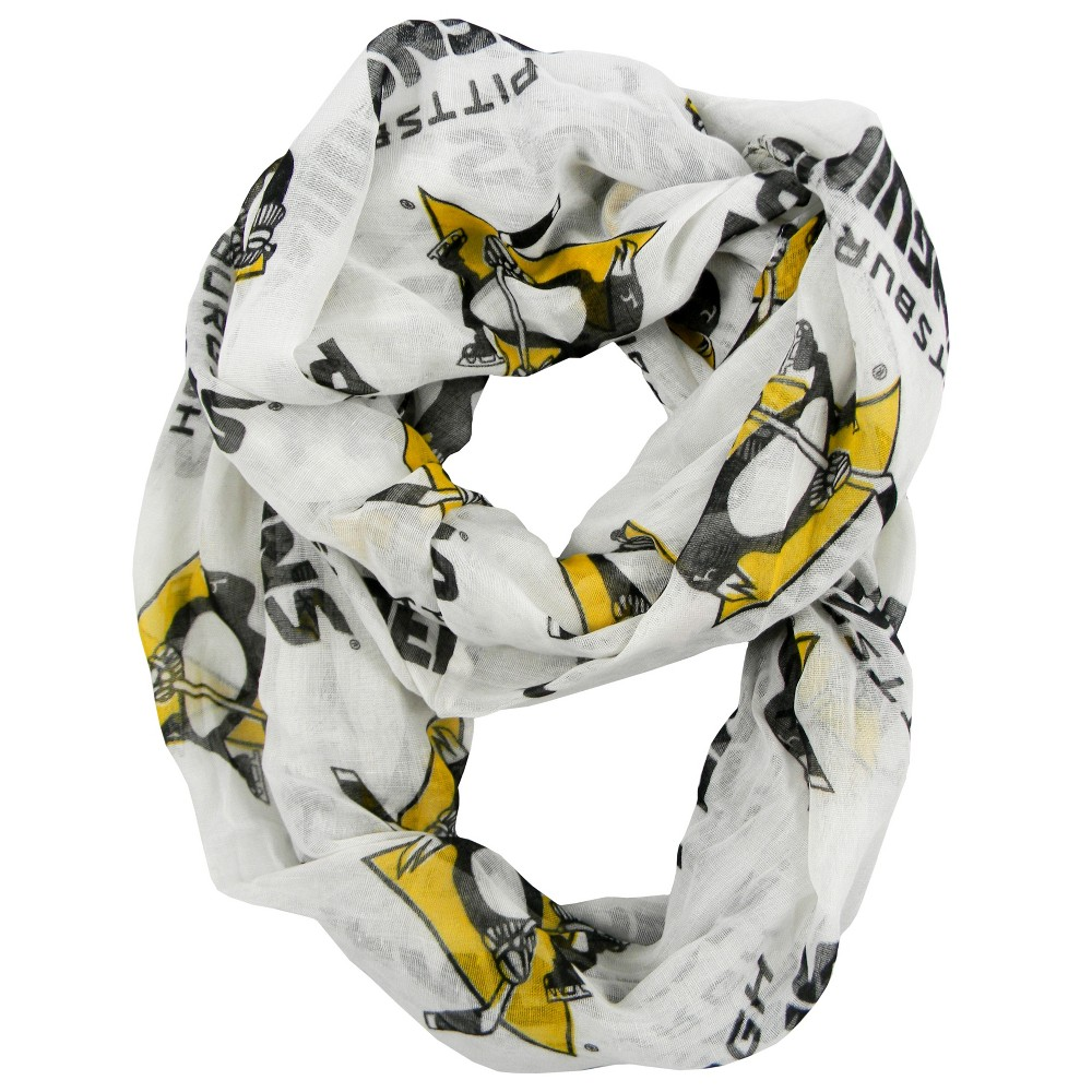 NHL Pittsburgh Penguins Sheer Secondary Color Infinity Scarf, Women's