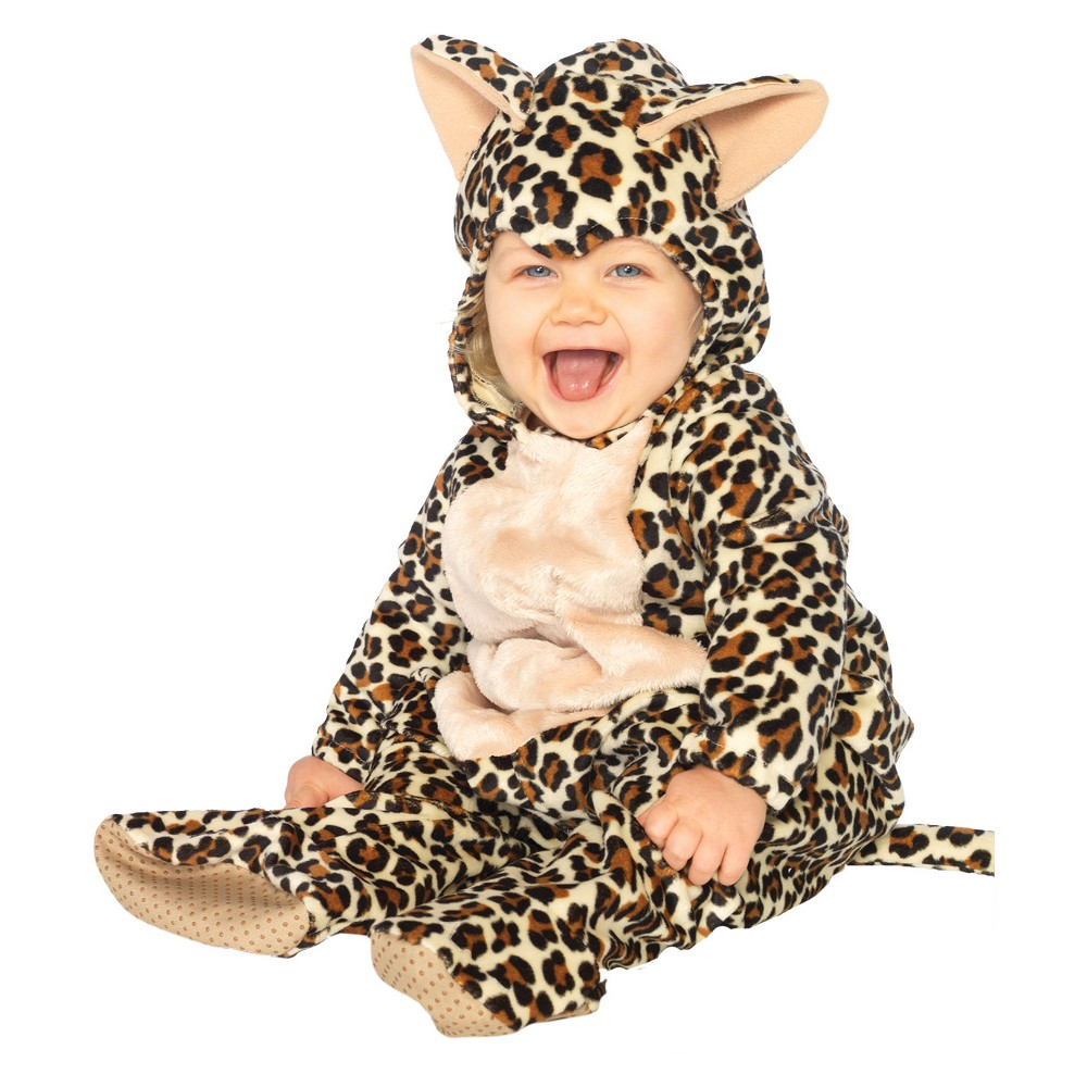 Toddler Costume Anne Geddes Baby Leopard 18-24 Months, Toddler Unisex, Size: 18-24M, Multicolored