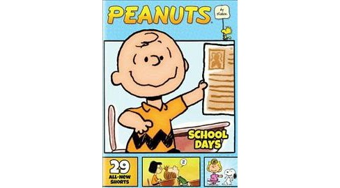 Peanuts By Schulz:School Days (DVD) - image 1 of 1