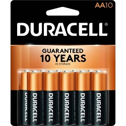 Duracell Copper Top AA Batteries - 10ct
