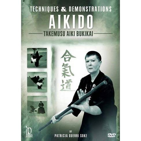 Aikido: Techniques & Demonstrations Takemusu Aiki Bukikai With Patricia  Guerri (DVD)