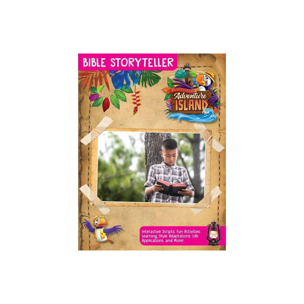 Vacation Bible School Vbs 2021 Discovery On Adventure Island Bible Storyteller Paperback