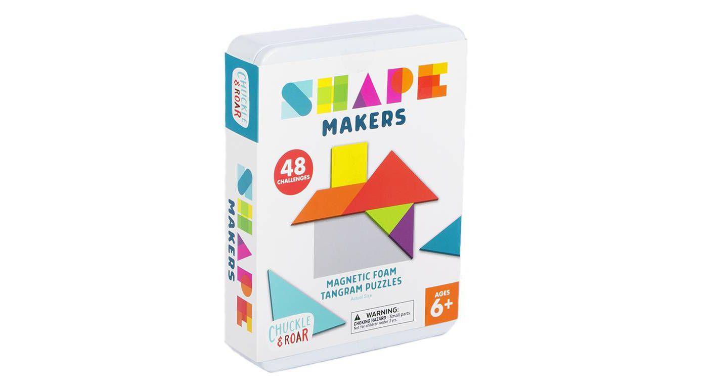 Chuckle & Roar Shape Makers Magnetic Foam Tangrams Game - image 1 of 9