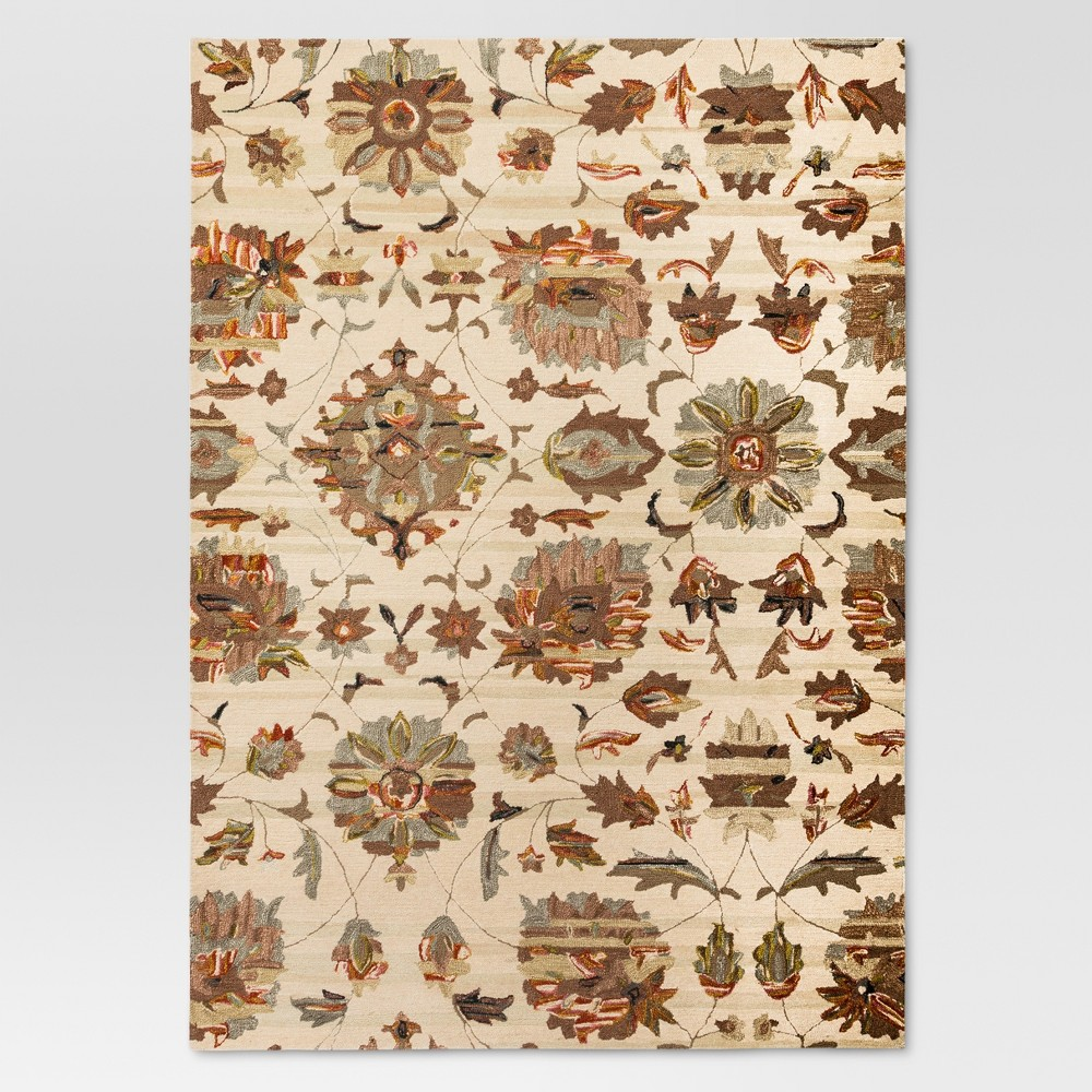 Floral Tufted Area Rug 9'X12' - Threshold, Multicolored