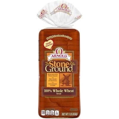 Arnold Stone Ground Wheat Bread - 16oz