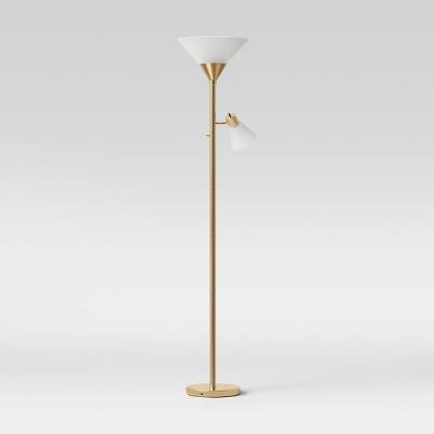 Mother Daughter Floor Lamp Brass - Threshold™