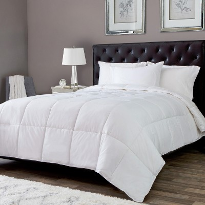 Lightweight White Goose Down Alternative Comforter - DOWNLITE