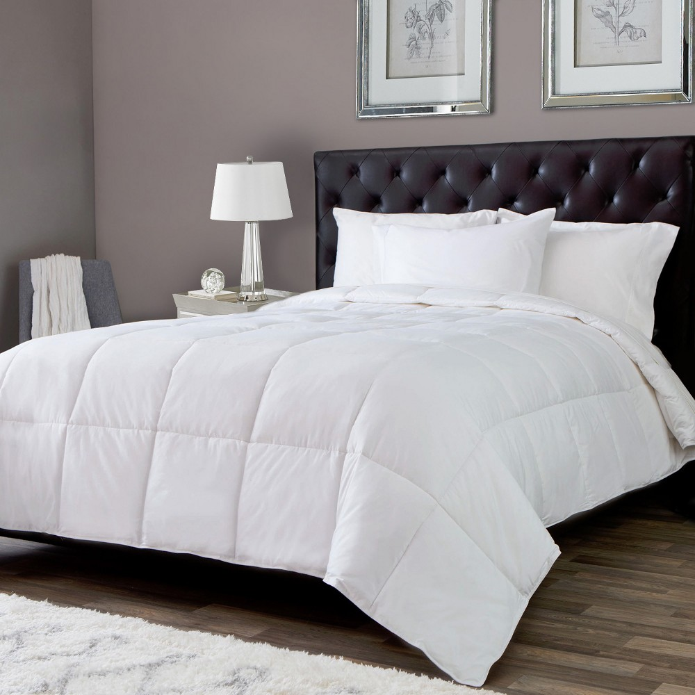 Image of Lightweight Goose Down Alternative Comforter King White - Downlite