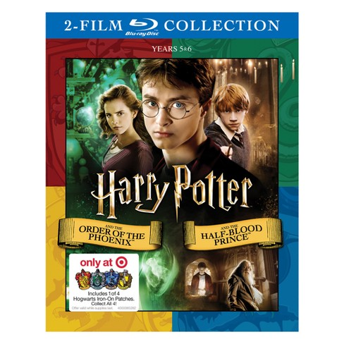 Harry Potter and the Order of Phoenix/Half Blood Prince DBFE (Hogwarts Patch) (Blu-Ray) - image 1 of 1