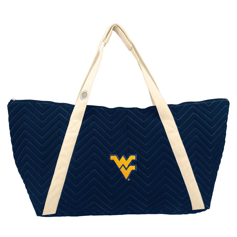 NCAA West Virginia Mountaineers Little Earth Chevron Stitch Weekender Bag