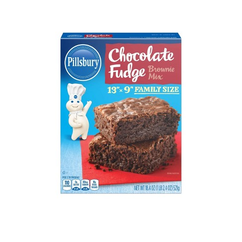 Pillsbury Baking Chocolate Fudge Brownie Mix - 18.4oz - image 1 of 3