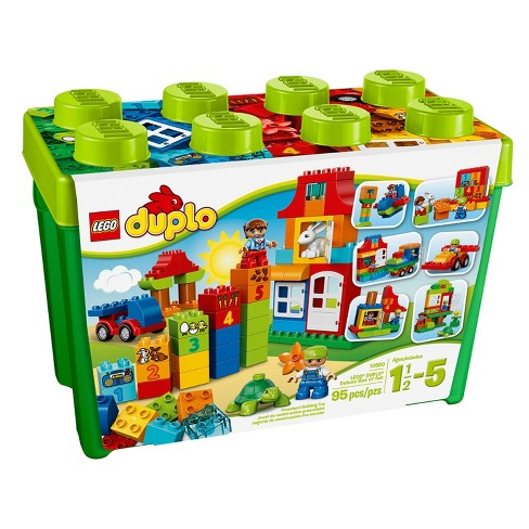 LEGO® DUPLO® Creative Play Deluxe Box of Fun 10580 - image 1 of 7