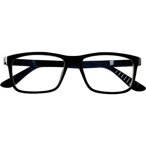 ec0085395b81 ... Blue Light Blocker Rectangle Black Large Glasses. Shop all ICU Eyewear