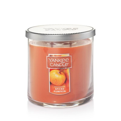 12.5oz Lidded Glass Jar 2-Wick Spiced Pumpkin Candle - Yankee Candle