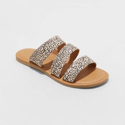 Women's Sammi Triple Band Slide Sandals - Universal Thread™