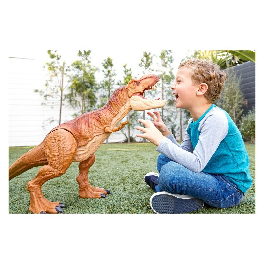 Jurassic World Super Colossal Tyrannosaurus Rex image number null