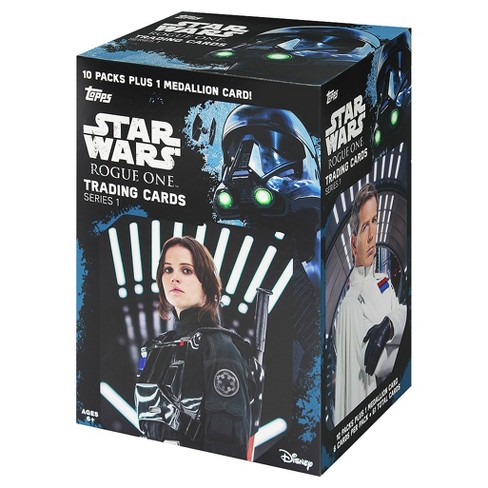 Star Wars Rogue One: A Star Wars Story 1 Trading Cards Full Box - 10pk - image 1 of 2