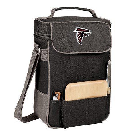 Picnic Time NFL Team Duet Wine and Cheese Tote - Black - image 1 of 2