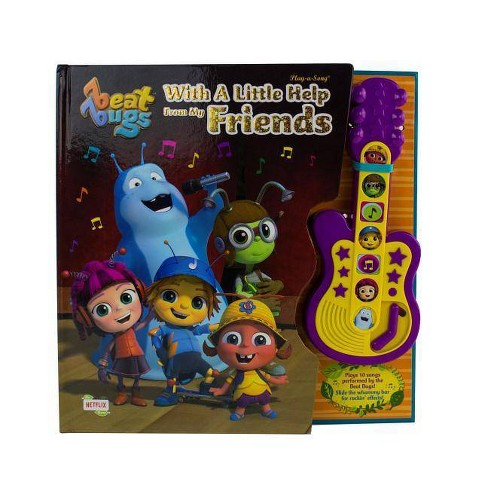 Beat Bugs - With A Little Help From My Friends Guitar Sound Board Book :  Target