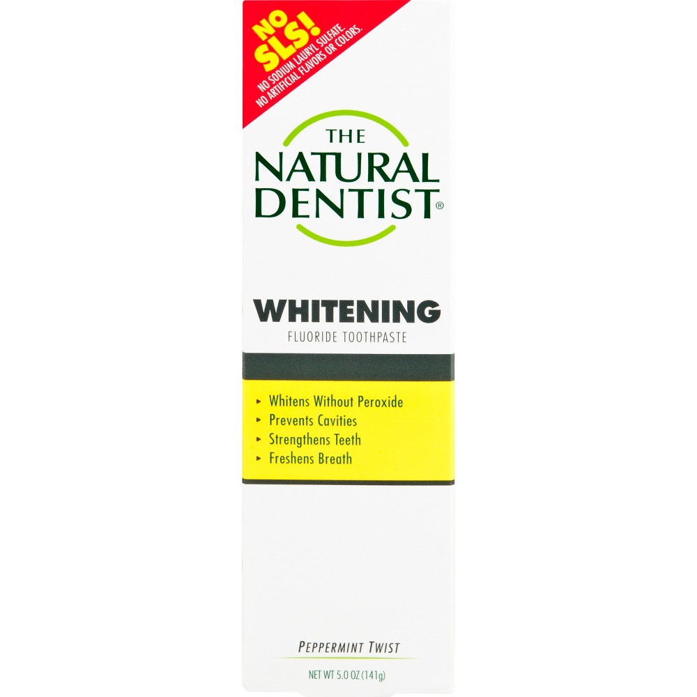 The Natural Dentist Fluoride-Free Toothpaste Peppermint Sage - 5oz