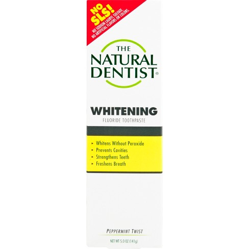 The Natural Dentist Fluoride-Free Toothpaste Peppermint Sage - 5oz - image 1 of 3