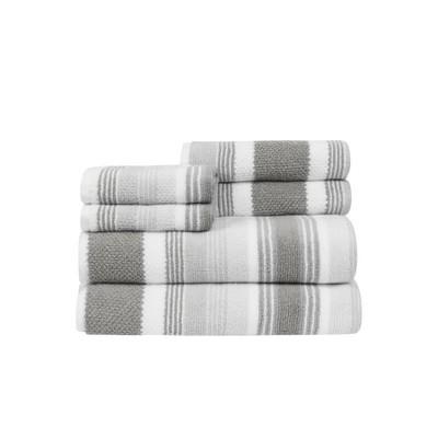 6pc Montauk Bath Towel Set - CARO HOME