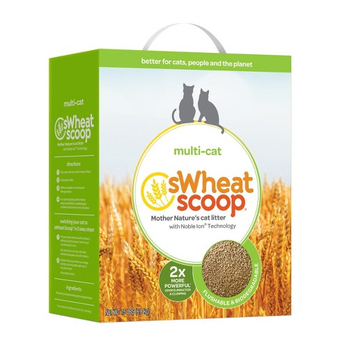 Wheat Scoop Single-Cat Natural Cat Litter - 15lbs - image 1 of 1