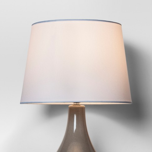 56a52a775d0 Linen Drum Lamp Shade White - Threshold™. Shop all Threshold™. This item  has 1 photo submitted from guests just like you!