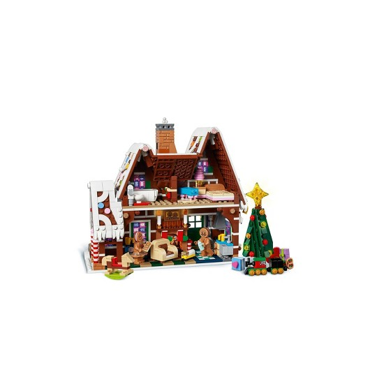 LEGO Creator Expert Gingerbread House Building Kit 10267 image number null