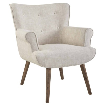 Cloud Upholstered Armchair Beige - Modway
