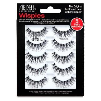 Ardell Eyelash Wispies Multipack Black - 5ct