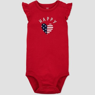 Baby Girls' Happy Bodysuit - Just One You® made by carter's Red