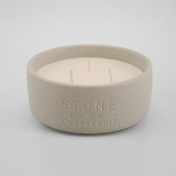 11oz Debossed Ceramic Jar 3-Wick Candle - Project 62™