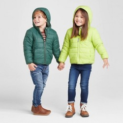 Toddler Long Sleeve Lightweight Puffer Jacket - Cat & Jack™