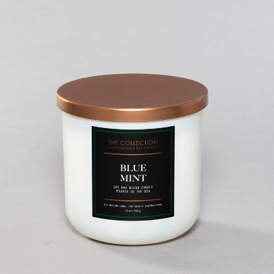 12oz Core Jar 2-Wick Candle Blue Mint - Chesapeake Bay Candle