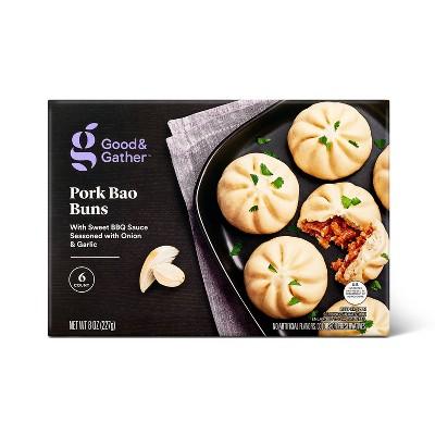 Frozen Pork Bao Buns - 8oz/6ct - Good & Gather™