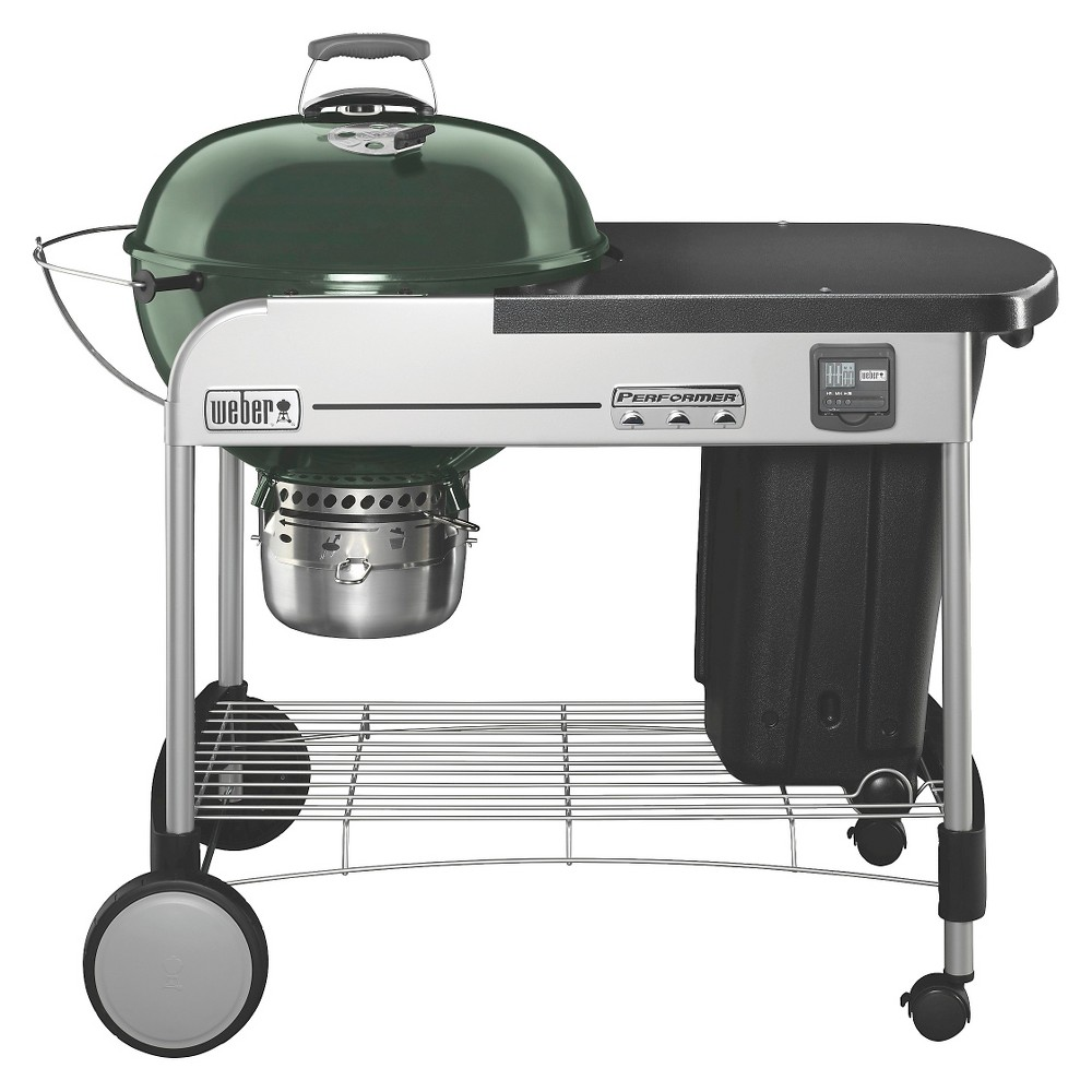 Weber Performer Premium Charcoal Grill- Green