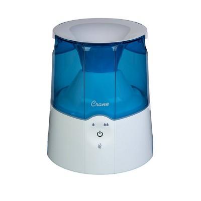 Crane Warm Mist Humidifier - Blue - 0.5Gal
